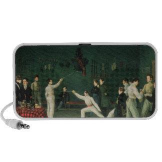 A Fencing Scene, 1827 iPhone Speaker