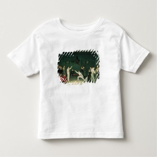 A Fencing Scene, 1827 Toddler T-shirt