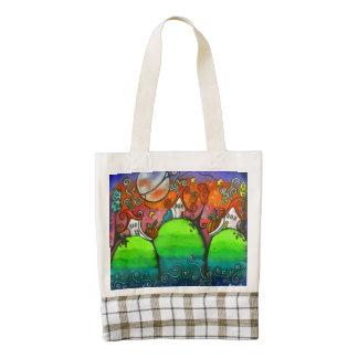 A Festive Fall Bag Zazzle HEART Tote Bag