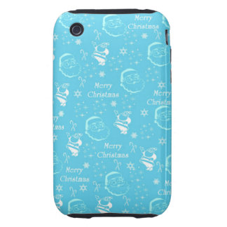 A Festive Jolly Father Christmas iPhone3 Case
