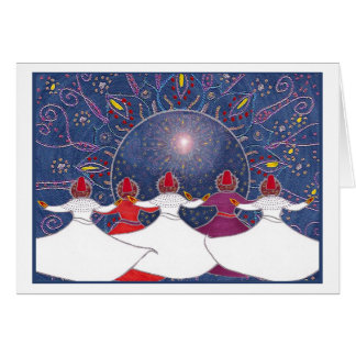 A Festive Whirl Card
