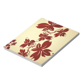 A Few Autumn Leaves Notepad