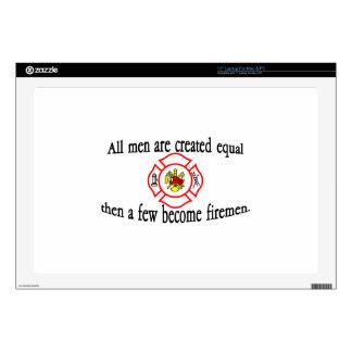 A few firemen laptop decal