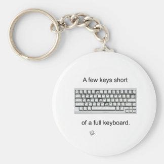 A Few Keys Short Keychain