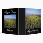 A Field Of Butter And Eggs Binder