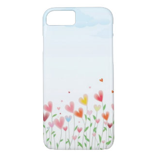 A Field of Hearts iPhone 8/7 Case