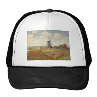 A Field of Tulips in Holland (1886) Hat
