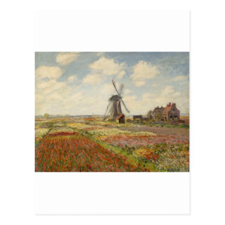 A Field of Tulips in Holland (1886) Postcard