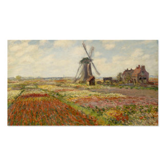 A Field of Tulips in Holland - Claude Monet Business Card