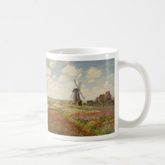 A Field of Tulips in Holland - Claude Monet Classic White Coffee Mug