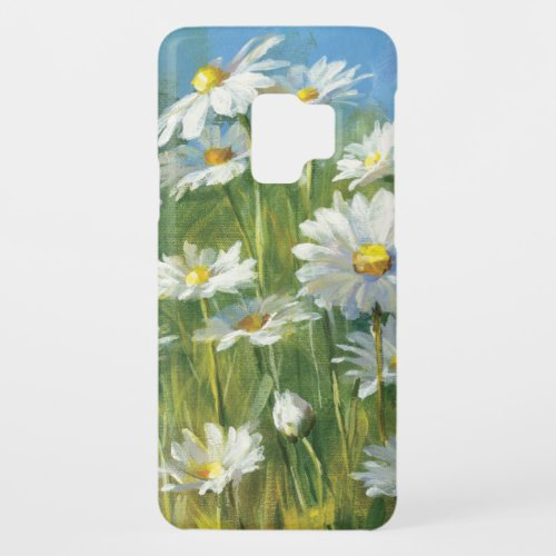 A Field of White Daisies Phone Case