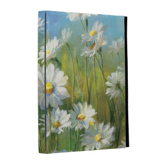 A Field of White Daisies iPad Folio Cover