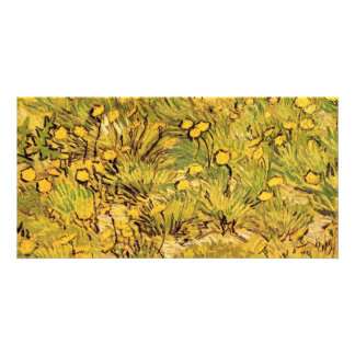 A field of Yellow Flowers,  Vincent van Gogh. Card