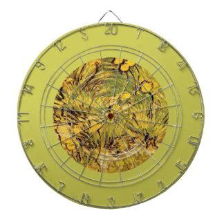 A Field of Yellow Flowers, Vincent van Gogh Dart Board