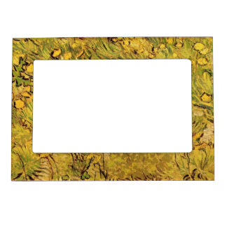 A field of Yellow Flowers,  Vincent van Gogh. Magnetic Photo Frames