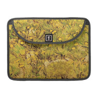 A Field of Yellower Flowers, Vincent Van Gogh Sleeves For MacBook Pro