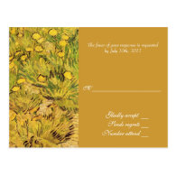A Field of Yellower Flowers, Vincent Van Gogh Post Cards