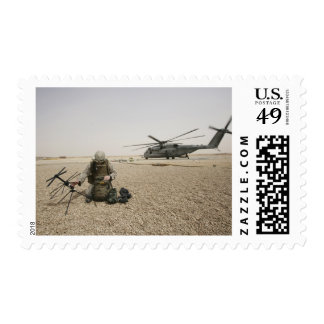A field radio operator postage