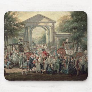 A Fiesta in a Botanical Garden, 1775 Mouse Pad