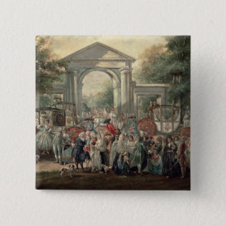 A Fiesta in a Botanical Garden, 1775 Pinback Button