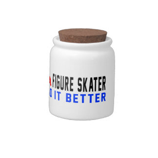 A Figure skater Do It Better Candy Dishes