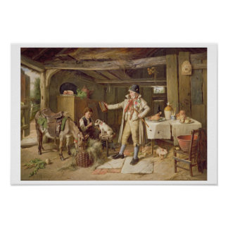 A Fine Attire, 1890 (oil on canvas) Poster