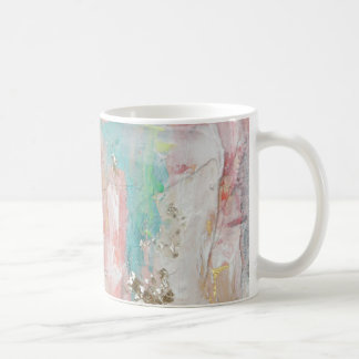 A Fine Day - Mixed Media Abstract Painting Coffee Mug