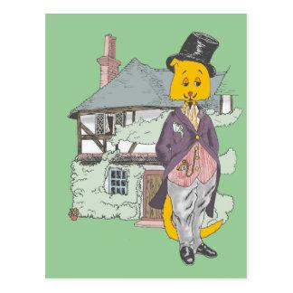 A Fine Feline Postcard