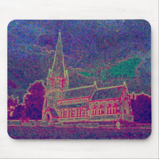 A FINE OLD CHURCH MOUSE PAD