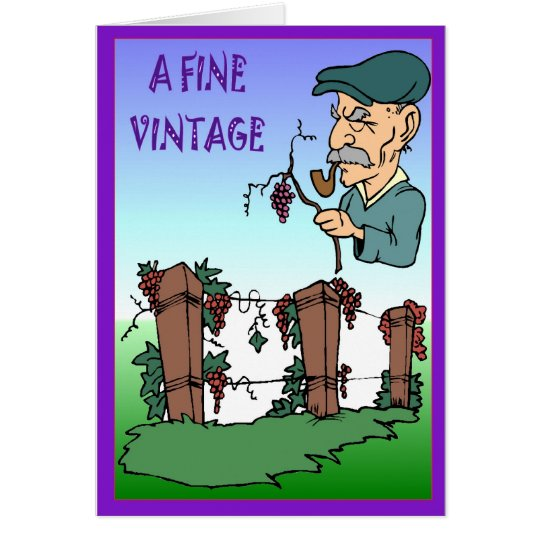 A fine vintage card