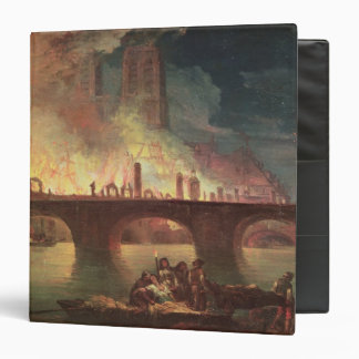 A Fire at the Hotel-Dieu in 1772 Vinyl Binders