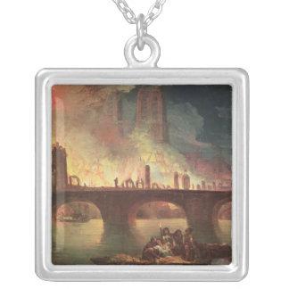 A Fire at the Hotel-Dieu in 1772 Custom Jewelry