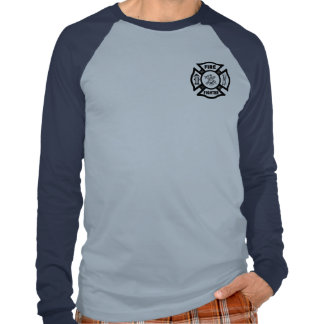 A Fire Fighter Maltese Tee Shirts