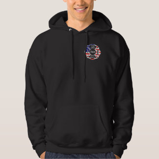 A Firefighter 9/11 Never Forget 343 Hoodie