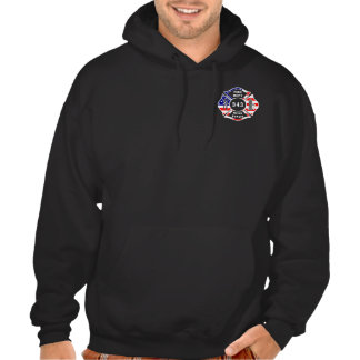 A Firefighter 9 11 Never Forget 343 Hoodie