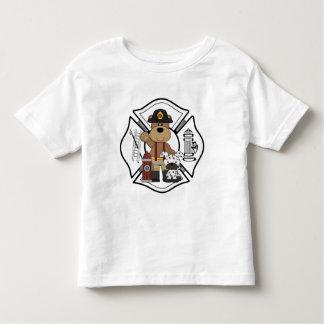 A Firefighter Fire Dept Bear Toddler T-shirt