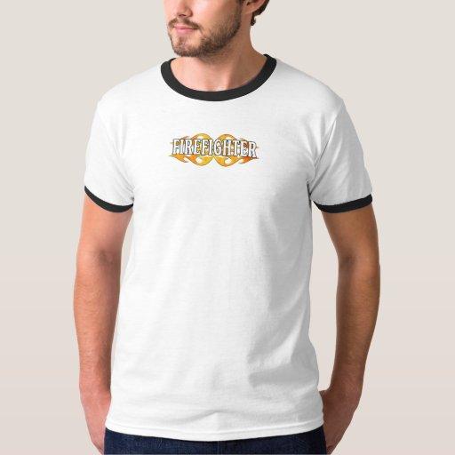 A Firefighter Flames Shirt