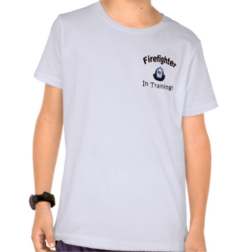A Firefighter In Training Tee Shirts