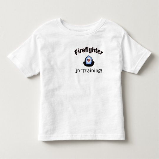 A Firefighter In Training Toddler T-shirt