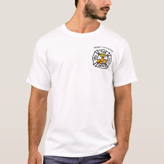 A Firefighter Thanksgiving T-Shirt