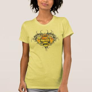 A Firefighters Girlfriend Tattoo T-Shirt