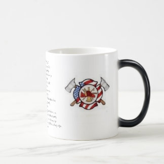 """A Firefighter's Prayer"" Coffee Mug"