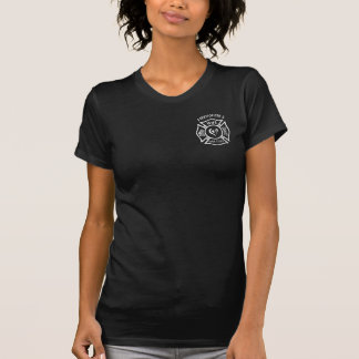 A Firefighters Wife Maltese Heart Shirts
