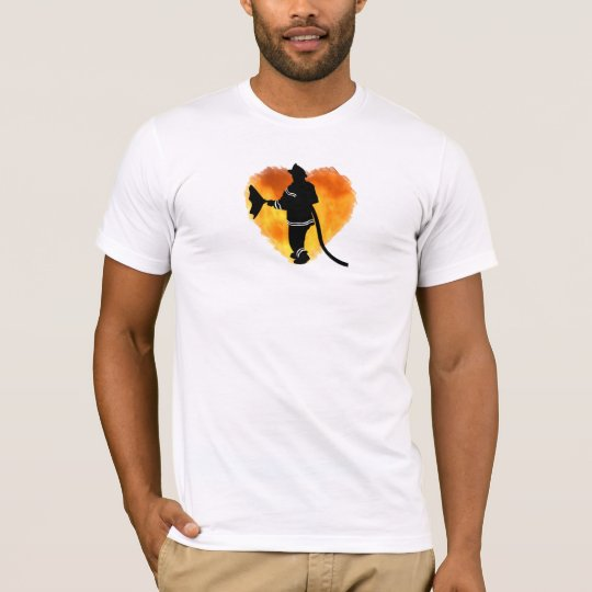 A Firemen Love Flames T-Shirt