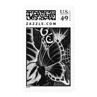 A firy life postage stamp