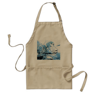 A fish called Wally Adult Apron
