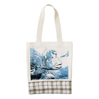 A fish called Wally Zazzle HEART Tote Bag