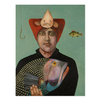 A Fish Story Postcard