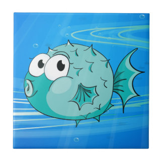a fish tile