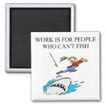 a fisherman design magnets